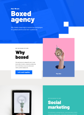 Boxed-landing-page
