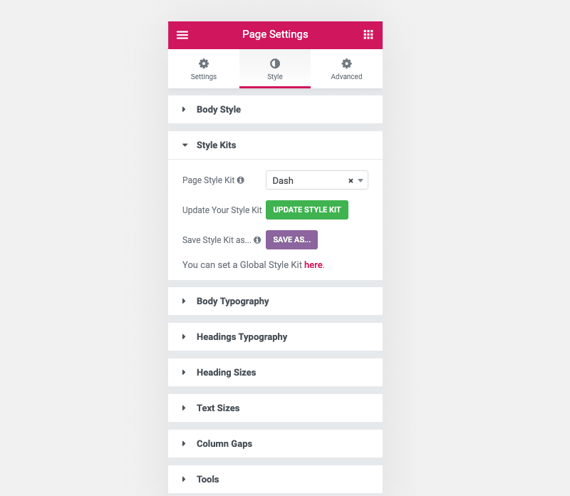 Meet Style Kits for Elementor (1 2 Beta) - AnalogWP